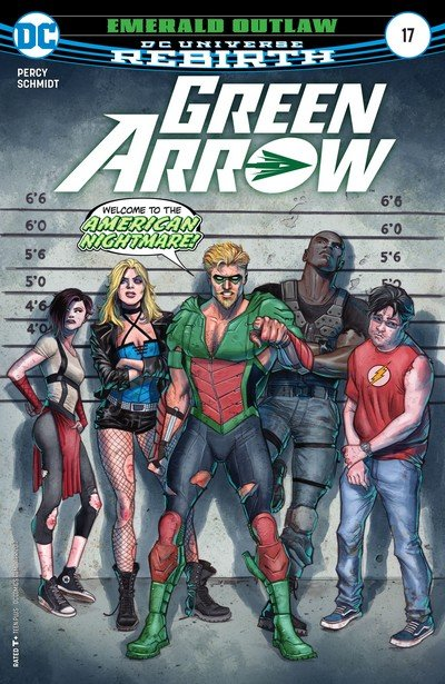 Green Arrow #17 (2017)