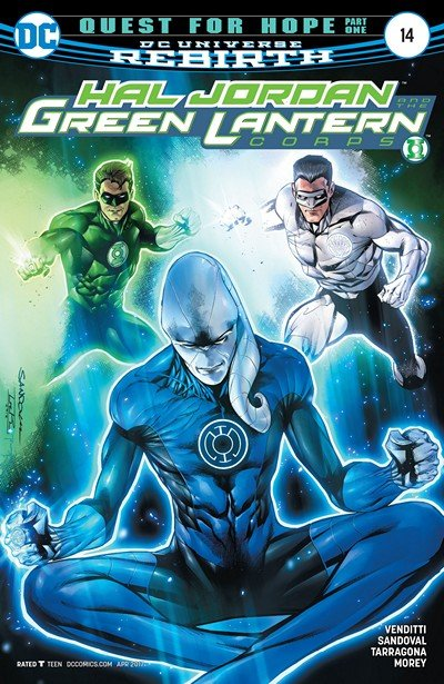 Hal Jordan and the Green Lantern Corps #14 (2017)