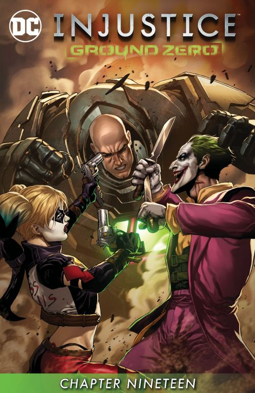 Injustice – Ground Zero #19 (2017)