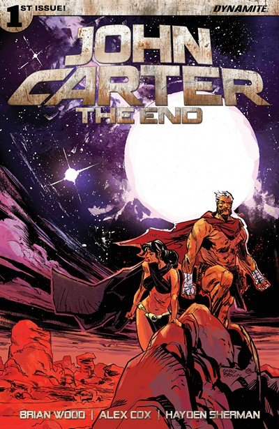 John Carter The End #1 (2017)