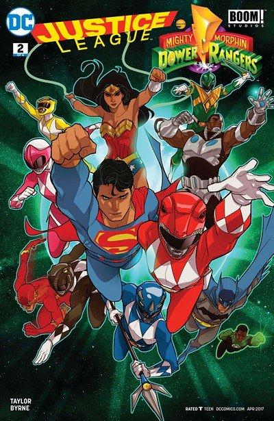 Justice League-Power Rangers #2 (2017)