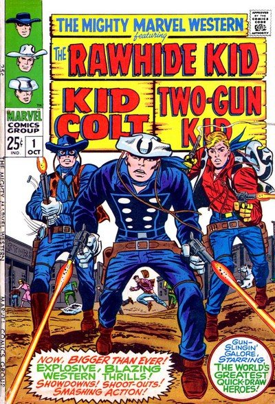 Mighty Marvel Western #1 – 46 + Extras (1968-1976 + 2006)