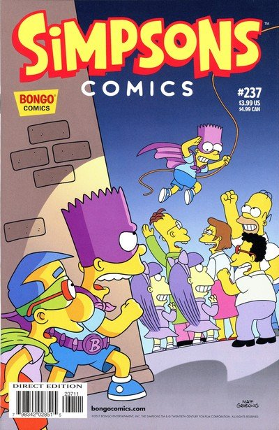 Simpsons Comics #237 (2017)