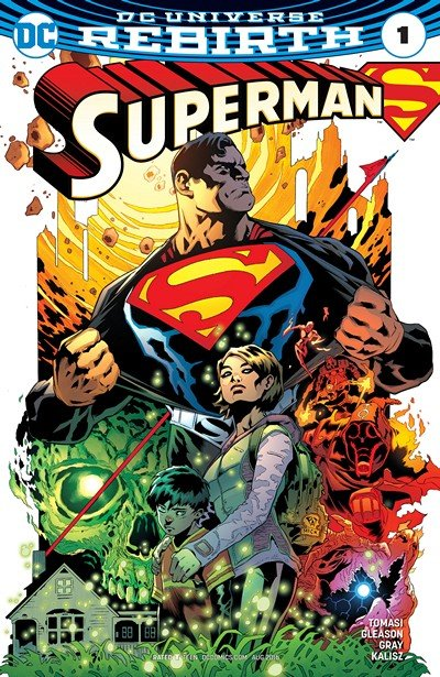 Superman – Rebirth #1, #1 – 23 + Annual #1 (2016-2017)