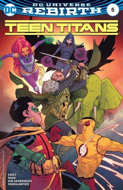 Teen Titans #5 (2017)