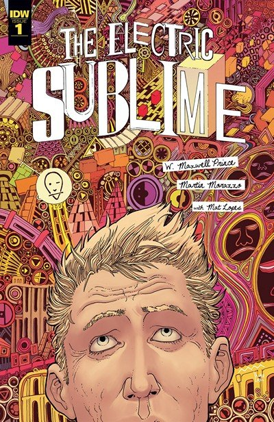 The Electric Sublime #1 – 4 (2016-2017)