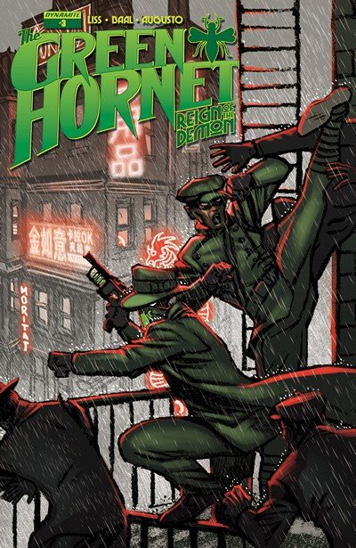 The Green Hornet – Reign of the Demon #3 (2017)