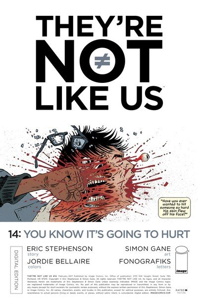 They're Not Like Us #14 (2017)
