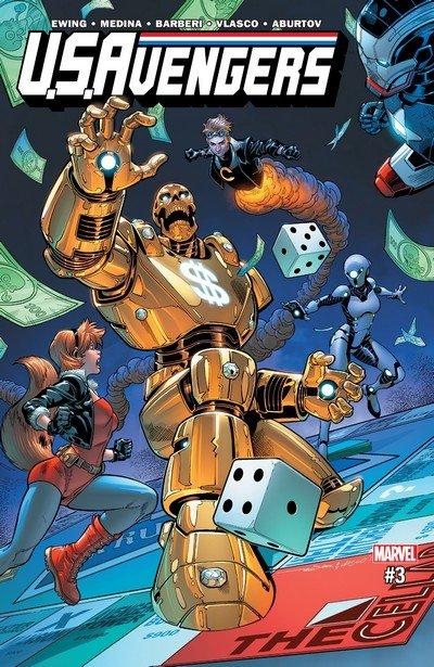 U.S.Avengers #3 (2017)