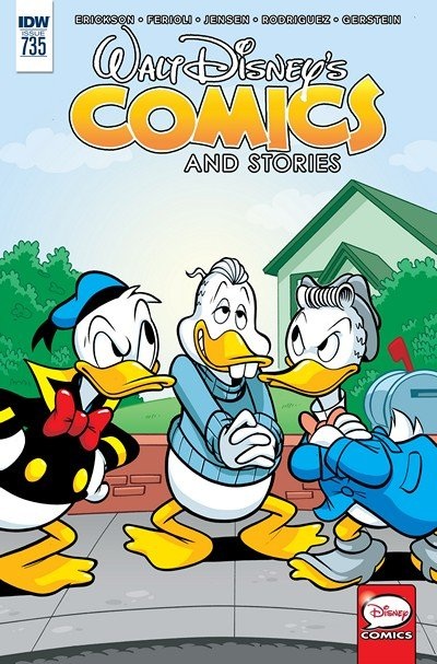 Walt Disney's Comics and Stories #735 (2016)