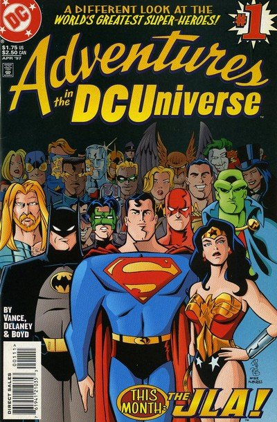 Adventures In the DC Universe #1 – 19 + Annual (1997-1998)