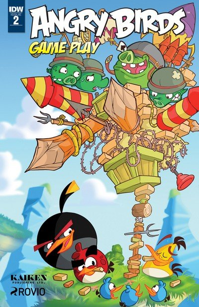 Angry Birds Game Play #2 (2017)