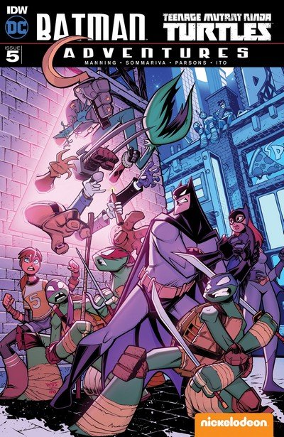Batman – Teenage Mutant Ninja Turtles Adventures #5 (2017)