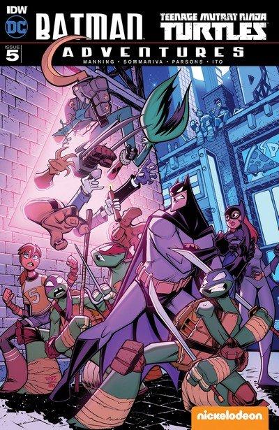 Batman – Teenage Mutant Ninja Turtles Adventures #5 (2017)