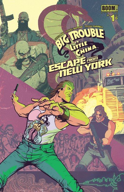 Big Trouble in Little China Escape From New York #1 – 6 (2016-2017)