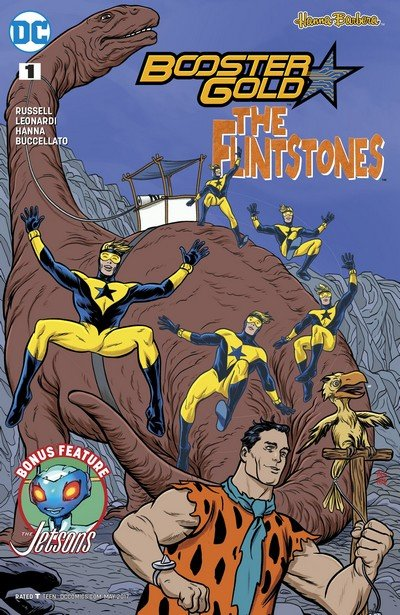 Booster Gold – The Flintstones Special #1 (2017)
