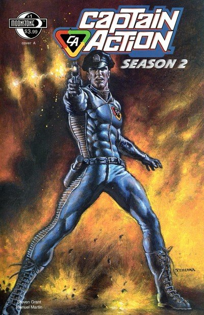 Captain Action Season Two #1 – 3 (2010)