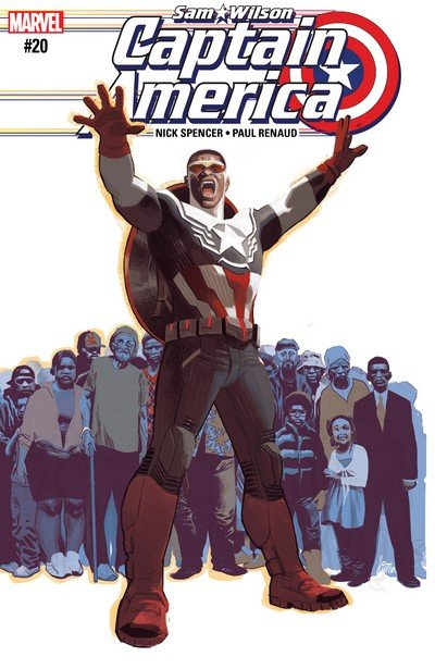 Captain America – Sam Wilson #20 (2017)