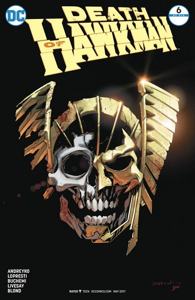 Death of Hawkman #6 (2017)