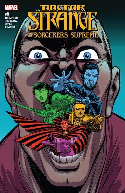 Doctor Strange and the Sorcerers Supreme #6 (2017)