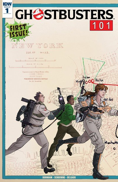 Ghostbusters 101 #1 (2017)