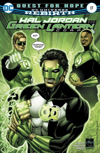 Hal Jordan and the Green Lantern Corps #17 (2017)