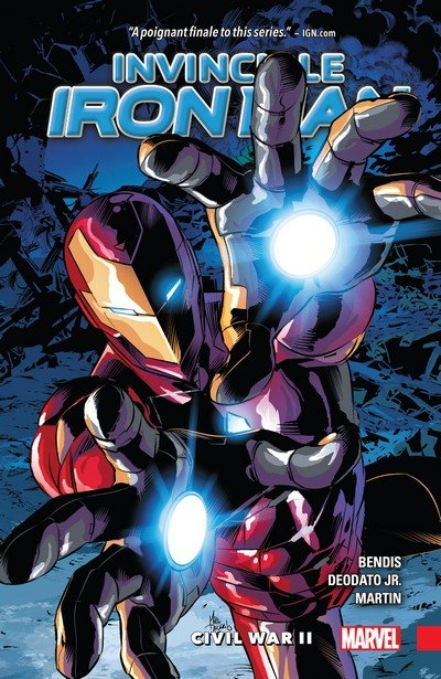 Invincible Iron Man Vol. 3 – Civil War II (2017)