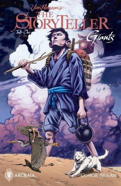 Jim Henson's The Storyteller – Giants #1 – 4 (2016-2017)