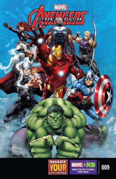 Marvel Universe Avengers – Ultron Revolution #9 (2017)