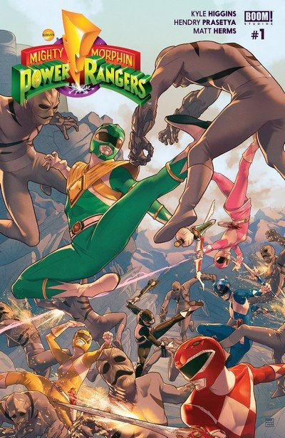 Mighty Morphin Power Rangers #0 – 28 + Annual #1 (2016-2018)