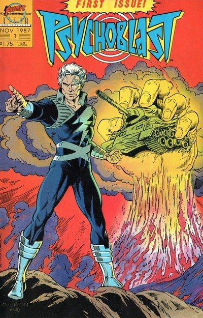 Psychoblast #1 – 9 (1987-1988)