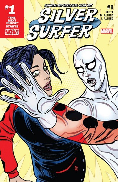 Silver Surfer #9 (2017)