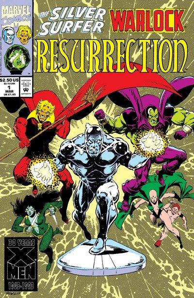 Silver Surfer-Warlock – Resurrection #1 – 4 (1993)