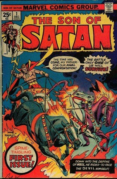 Son of Satan #1 – 8 (1975-1976)