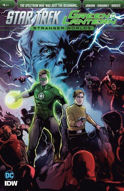 Star Trek Green Lantern Vol. 2 #4 (2017)