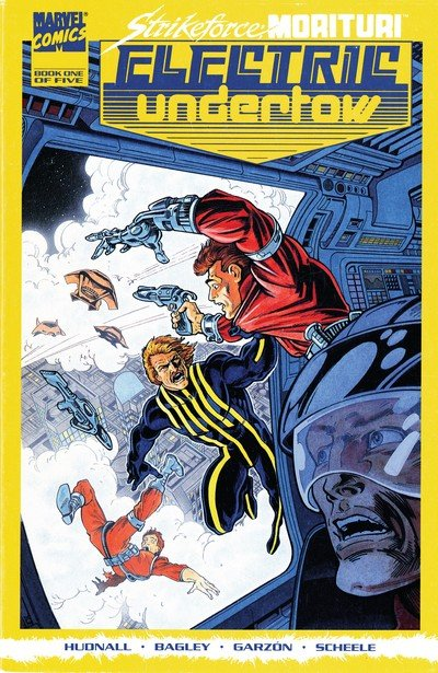Strikeforce Morituri – Electric Undertow #1 – 5 (1989-1990)