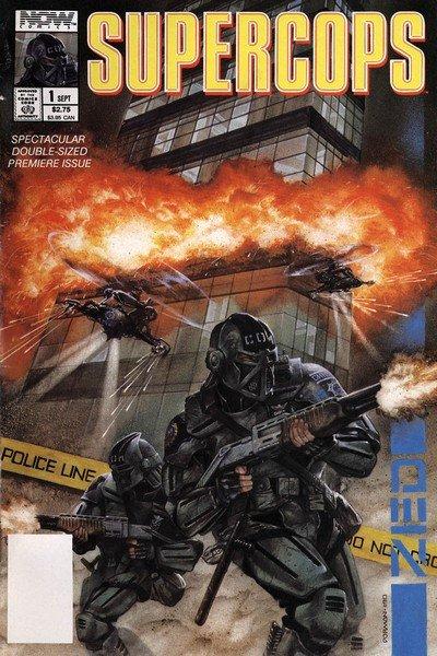 Supercops #1 – 4 (1990)