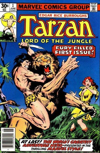 Tarzan Vol. 1 – Lord of the Jungle #1 – 29 (1977-1979)