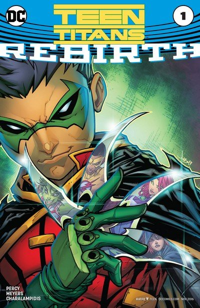 Teen Titans – Rebirth #1 + #1 – 40 + TPBs (2016-2020)
