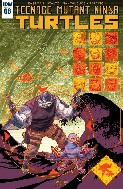 Teenage Mutant Ninja Turtles #68 (2017)