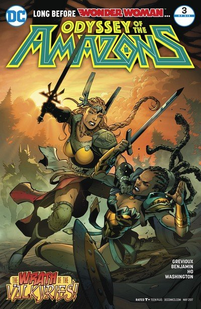 The Odyssey of the Amazons #3 (2017)