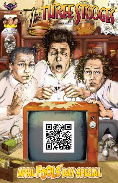 The Three Stooges – April Fools' Day Special #1 (2017)