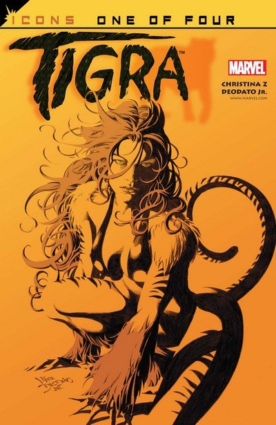 Tigra #1 – 4 (2002)