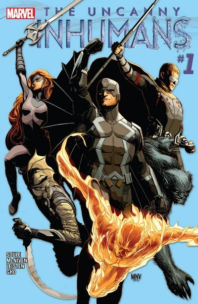 Uncanny Inhumans #0 – 20 + TPB Vol. 1 – 4 (2015-2017)