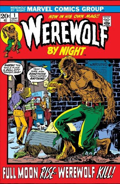 Werewolf By Night Vol. 1 #1 – 43 (1972-1976)