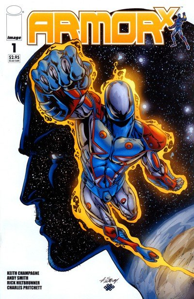 Armor X #1 – 4 (2005)