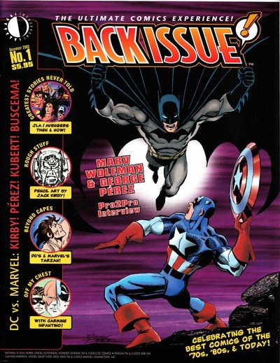 Back Issue #1 – 70 (2003-2014)