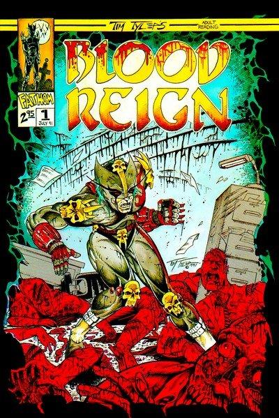 Blood Reign #1 – 9 + Saga #1 (1991-1992)