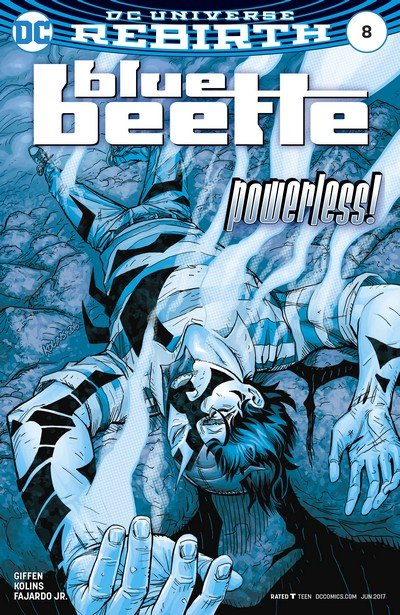 Blue Beetle #8 (2017)
