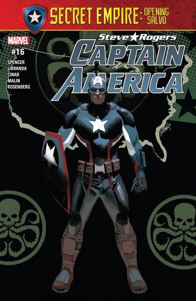 Captain America – Steve Rogers #16 (2017)